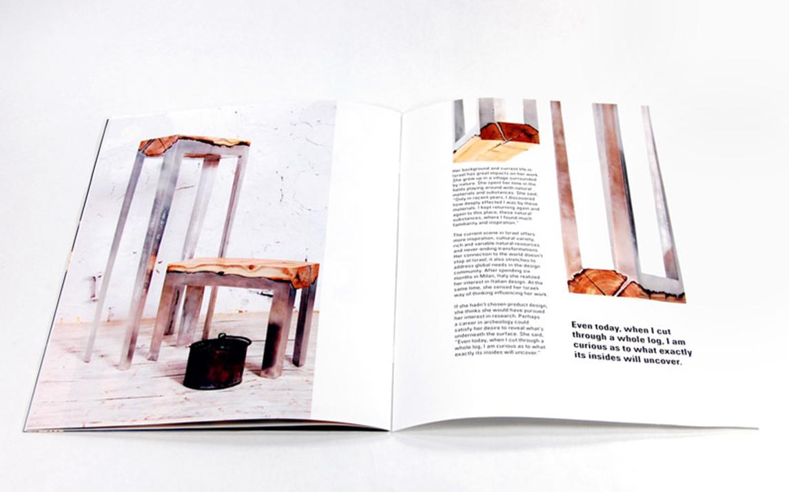 Hilla Shamia booklet spread